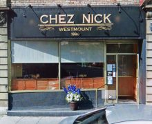 Nick's store front prior to architectural homogenization