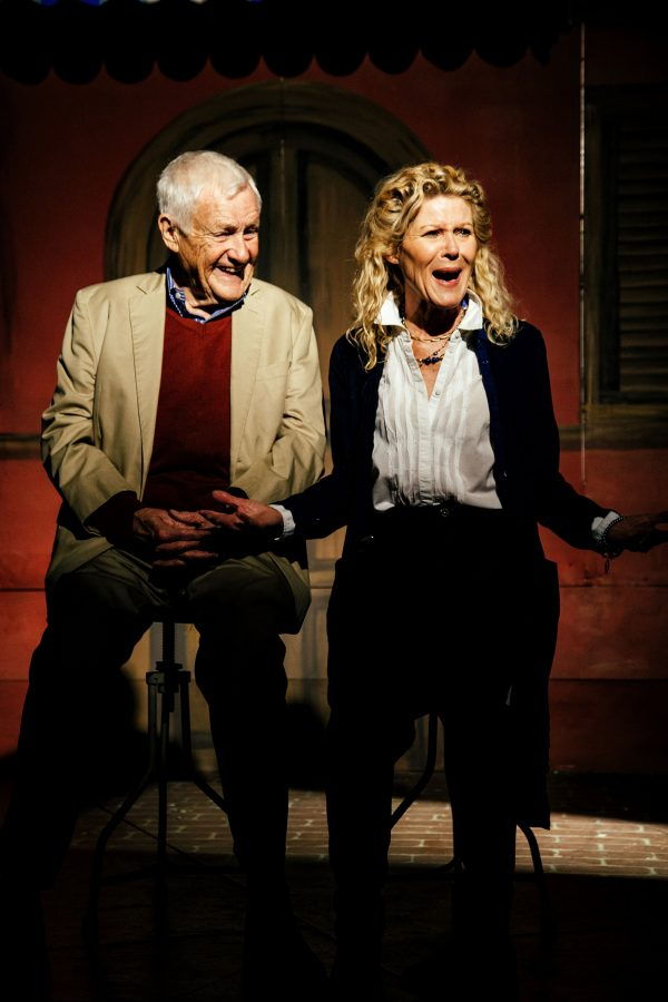 Orson Bean and Alley Mills in Alright Then at Pacific Resident Theatre. Photo by