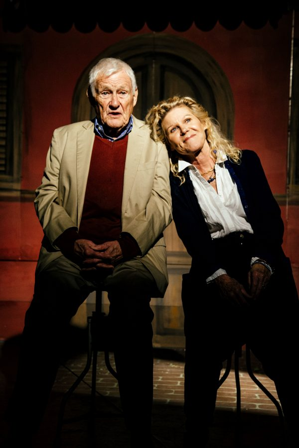 Orson Bean & Alley Mills in Alright Then at Pacific Resident Theatre. Photo by