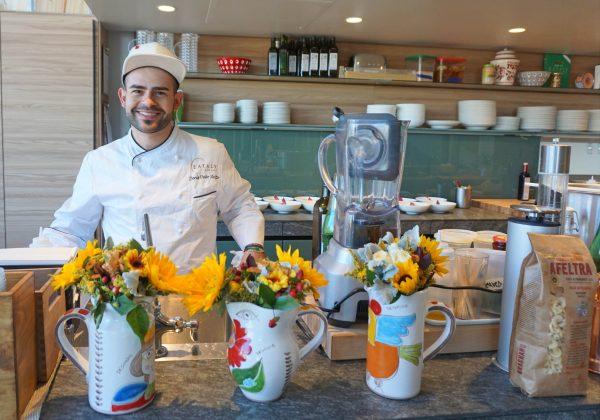Chef Dello Stritto, Eataly LA © Elisa Leonelli 2018