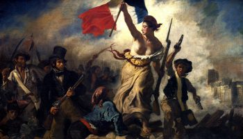 Delacroix - 'Liberty Leading The People'