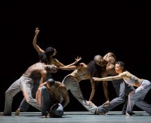 Alvin Ailey American Dance Theatre.  Photo by Paul Kolnick.