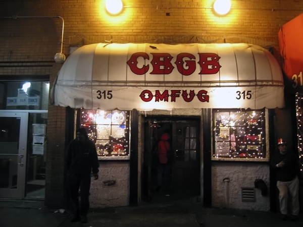 World famous CBGB/Flickr