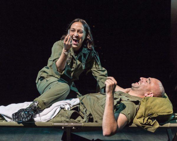 Caro Zeller & Jason Manel Olazábal in Elliot, A Soldier's Fugue.