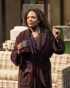 Luna Lauren Vélez as Odessa in Water By the Spoonful at The Mark Taper Forum.
