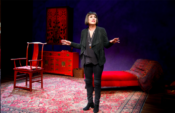 Eve Ensler in In the Body of the World. Credit: Joan Marcus