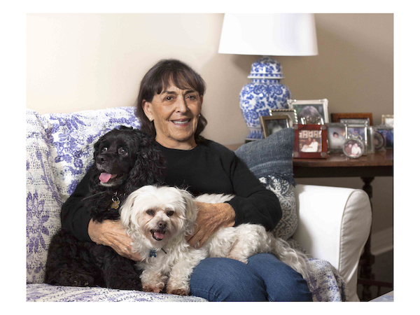 Cyrena Feinberg. Dogs Joey and Daisy. Photography by Jim Storm. Cultural Weekly