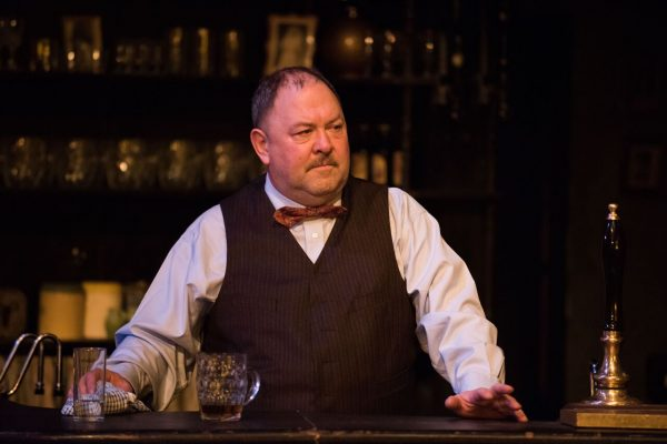 Mark Addy in Hangmen. Credit: Ahron R. Foster