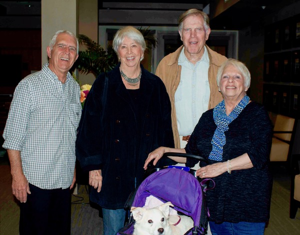 NoHo Senior Arts Colony_Jim and Sue Taylor_Sally and Michael Storm_Photo by Dr. Valerie Pronio Stelluto_culturalweekly.com.jpg