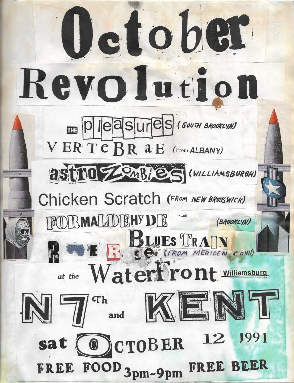 October Revolution 1 Flyer