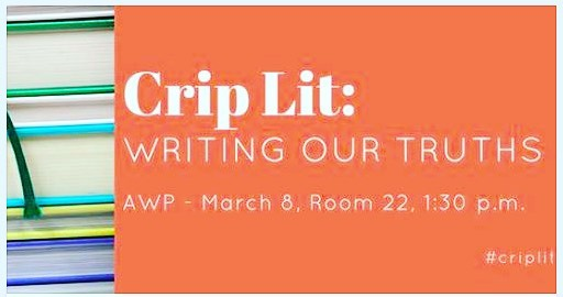 """Crip Lit,""one of the panels I enjoyed : my friend Jill Khoury was on the panel."