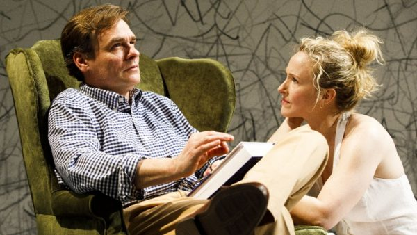 Robert Sean Leonard and Katie Finneran in Edward Albee's At Home at the Zoo. Credit: Joan Marcus