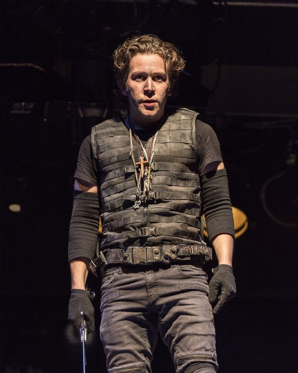 Rafael Goldstein as King Henry V at A Noise Within.