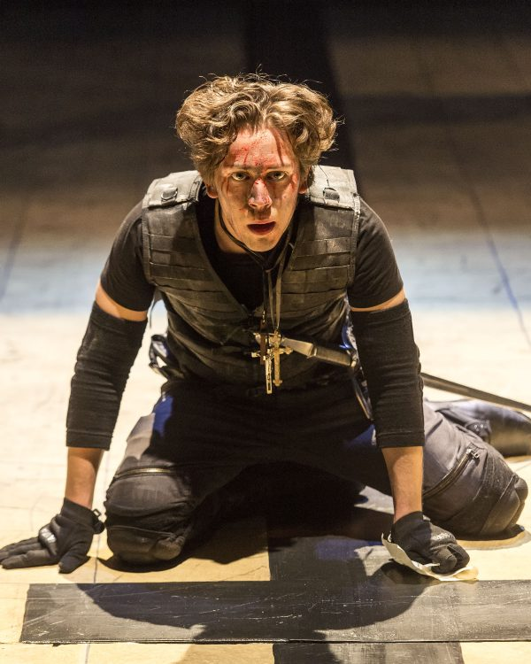Rafael Goldstein in Henry V at A Noise Withn.