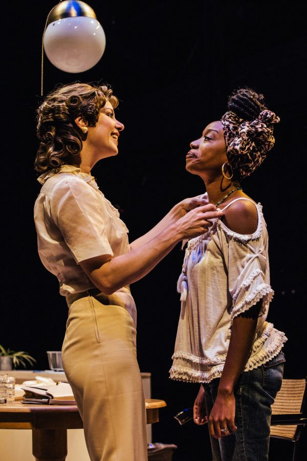 l-r, Jaimi Paige & Maya Lynne Robinson in A Streetcar Named Desire at Pasadena's Boston Court .