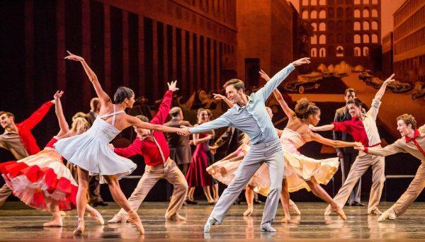 "Joffrey Ballet's ""Romeo & Juliet"". Photo by Cheryl Mann."