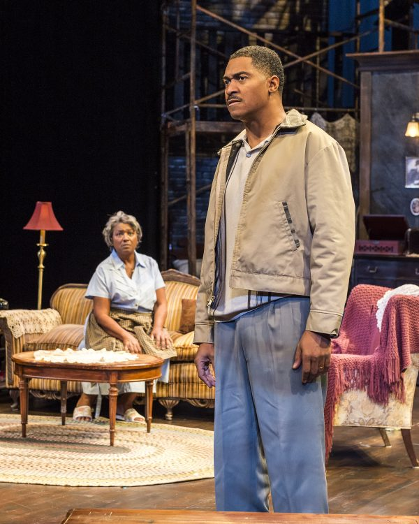 l-r: Saundra McClain & Ben Cain in A Raisin In the Sun at A Noise Within.