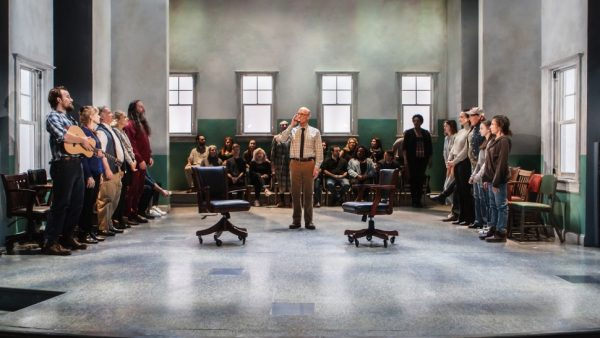 Ed Harris and cast in Good for Otto. Credit: Monique Carboni