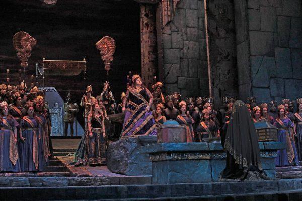 Angela Meade in Semiramide at the Metropolitan Opera. Credit: Ken Howard