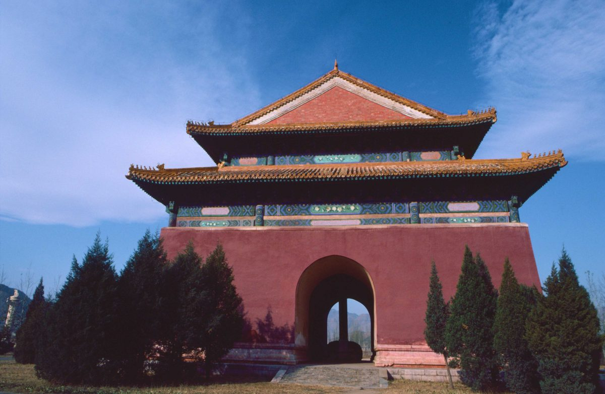 Ming Tombs, Great Red Gate (c) Elisa Leonelli