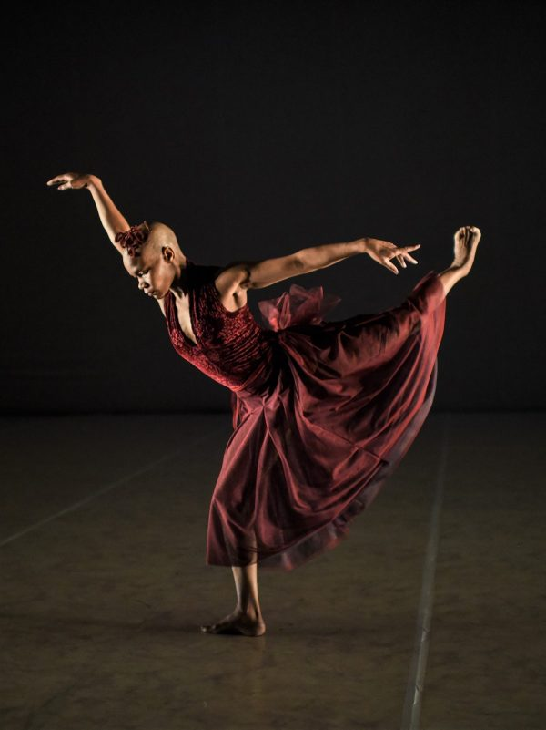 """Dado Masilo's """"Giselle"""". Photo by Stella Olivier."""