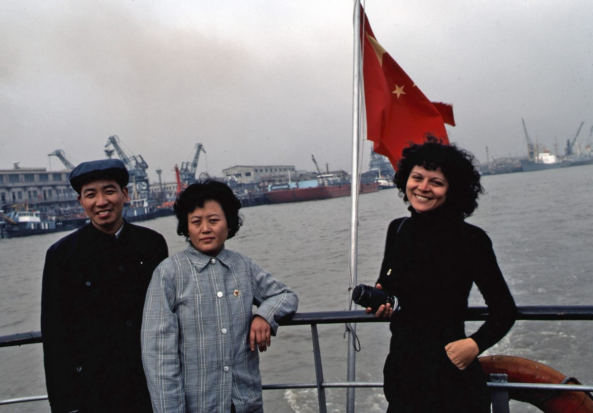 Elisa Leonelli in Shanghai, photo by Norman Snyder