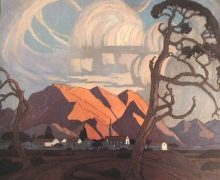 JH_Pierneef_-_Karibib,_South_West_Africa_1929