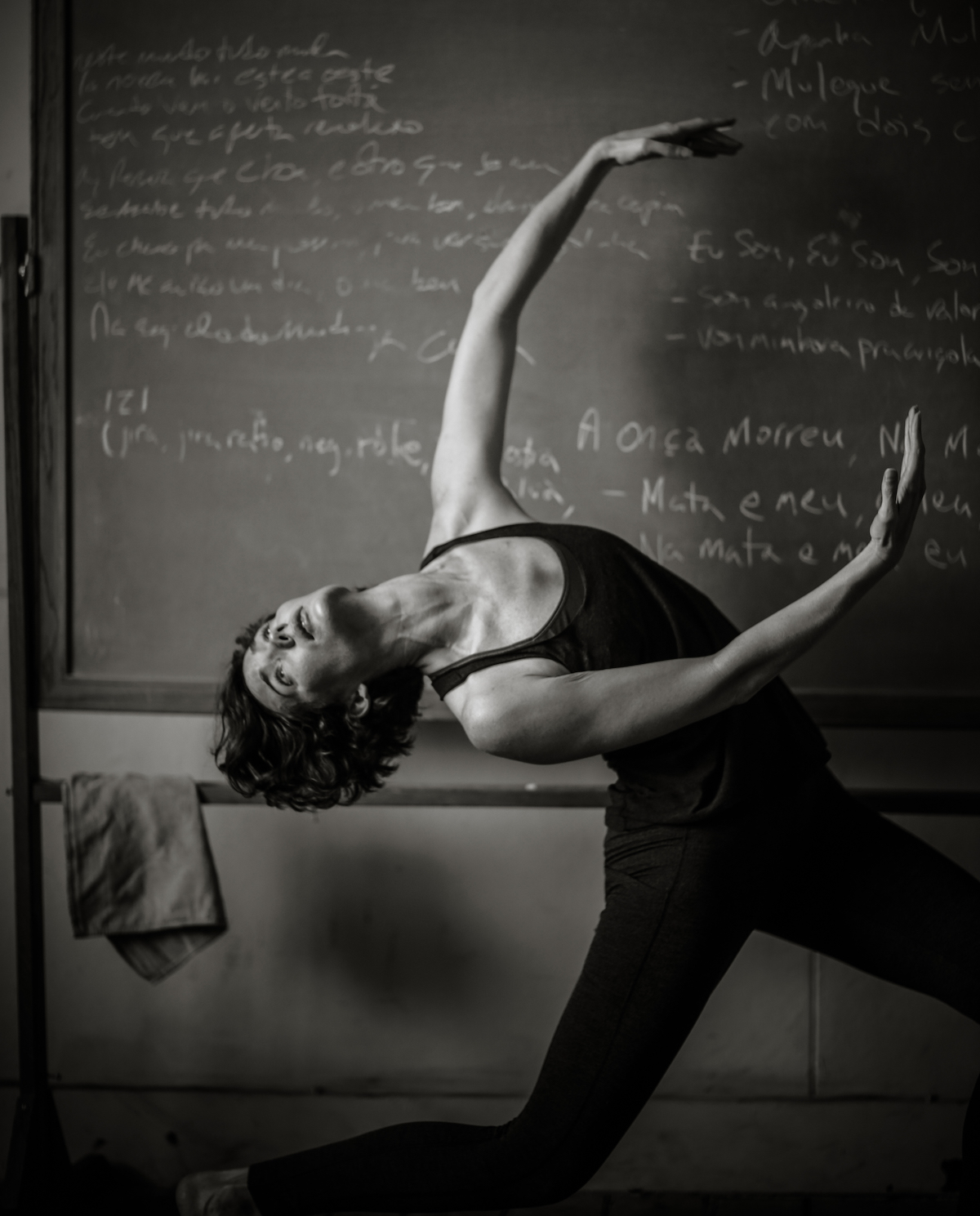 Nancy Evans Dance Theatre's Jenn Logan. Photo by PaiWei Wei.
