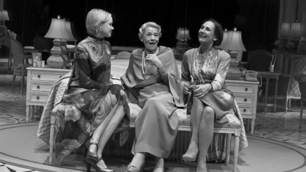 Alison Pill, Glenda Jackson, and Laurie Metcalf in Edward Albee's Three Tall Women. Credit: Brigitte Lacombe