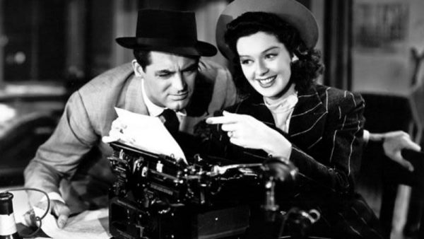 His Girl Friday (c) TCM