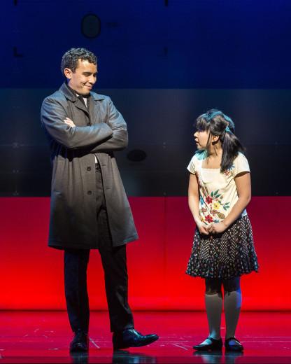 Conrad Ricamora and Kendyl Ito in Soft Power ar The Ahmansn Theatre
