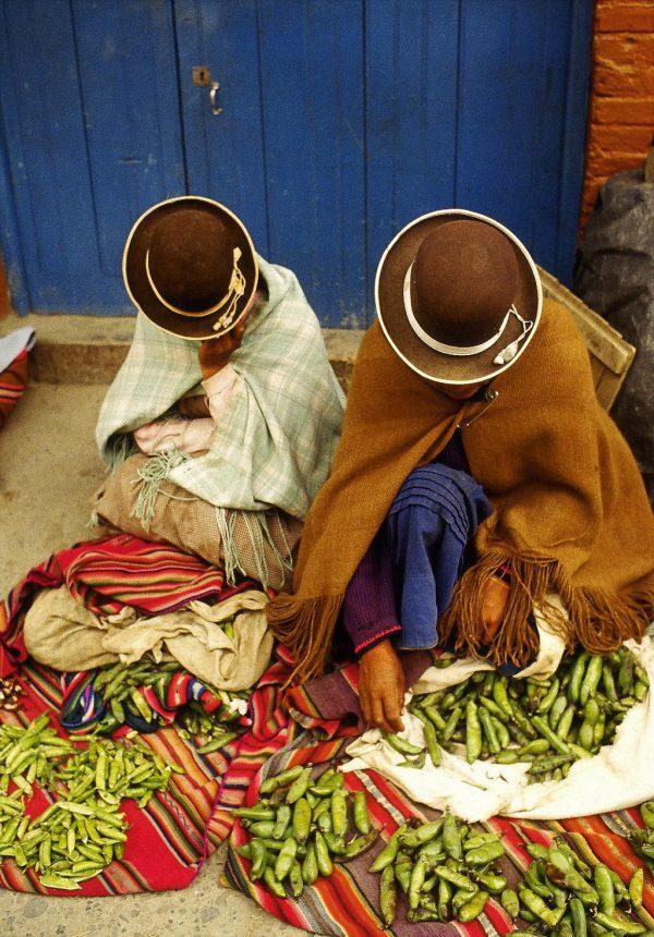 La Paz, Bolivia. Bowler hats (c) Elisa Leonelli