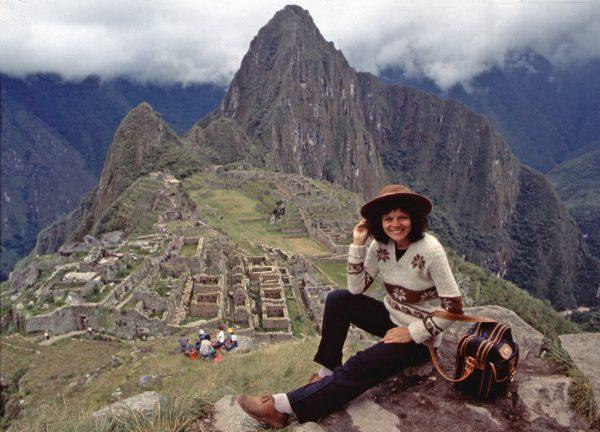 Machu Picchu, Peru. Elisa Leonelli. photo by Peggy Kahana