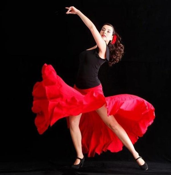 Forever Flamenco's Wendy Castellanos. Photo courtesy of Forever Flamenco.