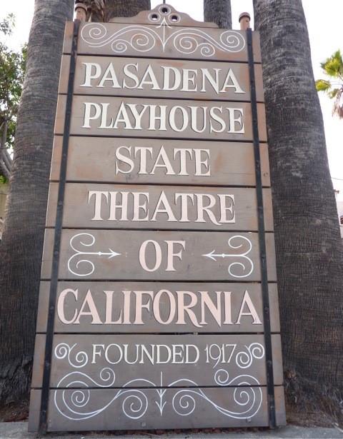 Playhouse-sign