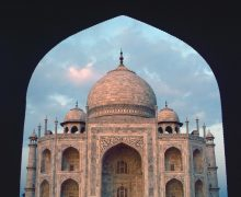 TAJ MAHAL. Agra, India (c) Elisa Leonelli 1984
