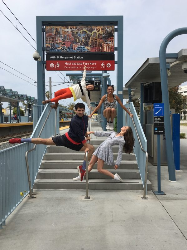 """Transit Dances II"". Photo courtesy of Donna Sternberg & Dancers."