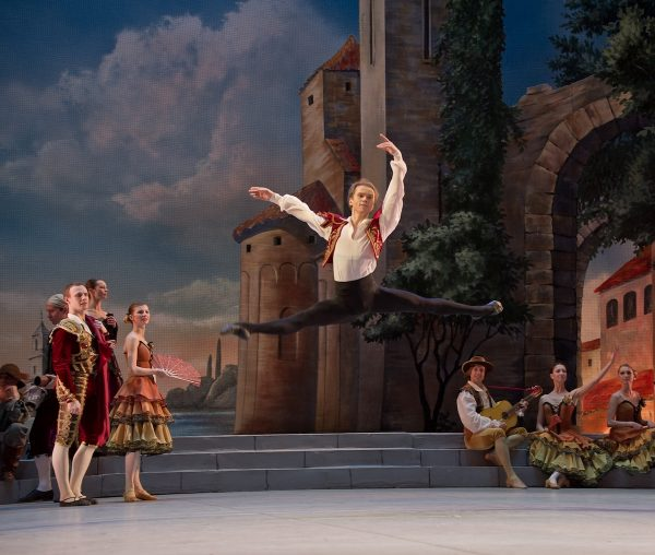 "National Ballet of Ukraine's ""Don Quixote"". Photo courtesy of NBU."