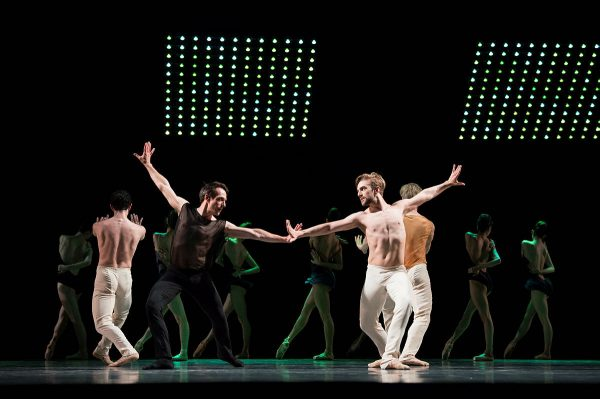 "San Francisco Ballet in Alonzo King's ""The Collective Agreement"". Photo by Eric Tomasson."
