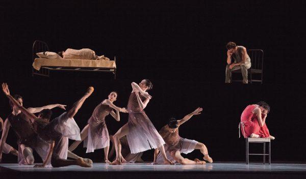 "San Francisco Ballet in Cathy Marston's ""Snowblind"". Photo by Erik Tomasson."