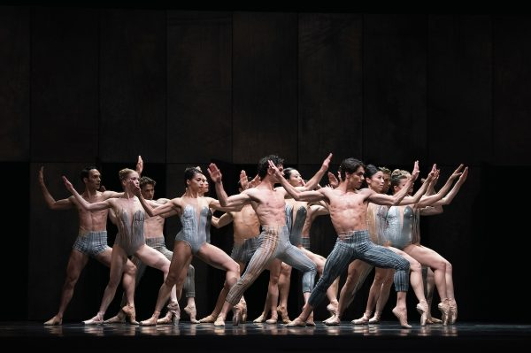 "San Francisco Ballet in Dwight Rhoden's Let's Begin at the End."" Photo by Erik Tomasson."