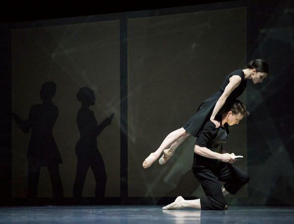 """San Francisco Ballet in Christopher Wheeldon's """"Bound To"""". Photo by Erik Tomasson."""