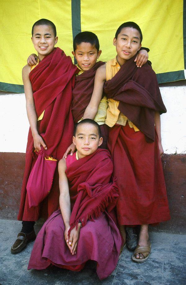 Young Buddhist monks-Katmandu, Nepal © Elisa Leonelli 1984