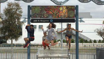 """""""Transit Dances II"""".  Photo courtesy of Donna Sternberg & Dancers,"""