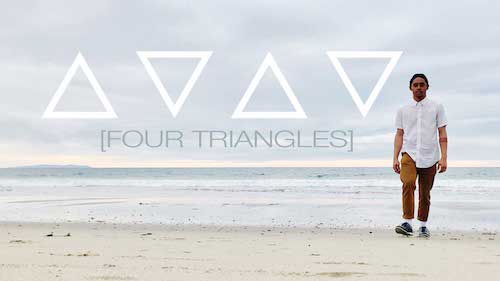 Jay Carlon performs Four Triangles as part of Beach Dances