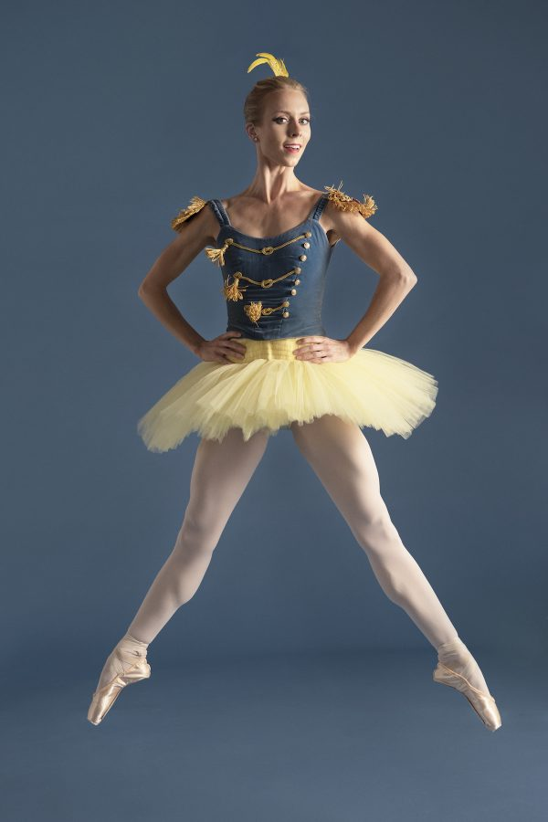 American Contemprary Ballet's Victoria Hulland. Photo by Ryan Ward.