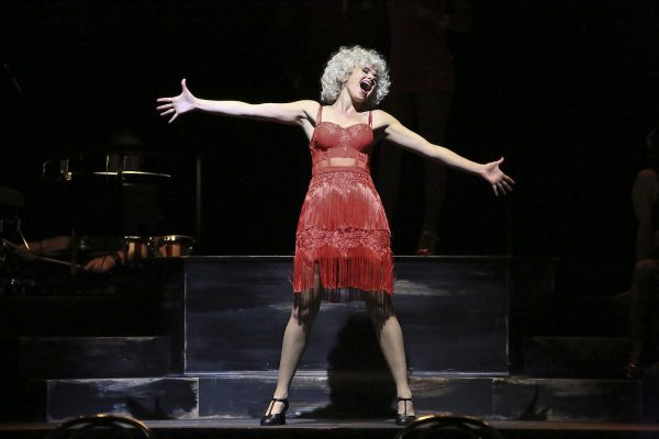 Laura Bell Bundy in Reprise 2.0's Sweet Charity. Photo by Michael Lamont.