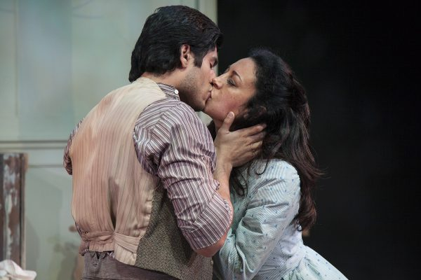 Peter Mendoza & Anna Khaja in Three Days In the Country at Antaeus.