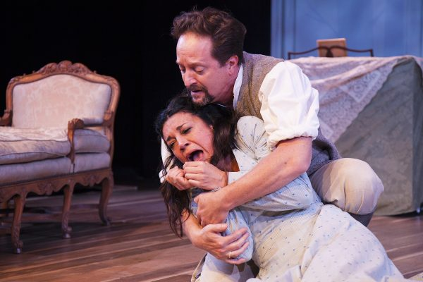 Anna Khaja & Daniel Blinkoff in Three Days In the Country at Antaeus.