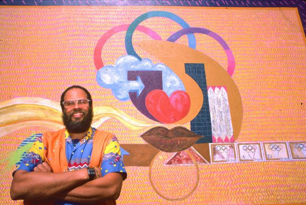 Alonzo Davis-Olympic mural